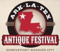 ARK-LA-TEX ANTIQUE FESTIVAL BOSSIER CITY fuar logo