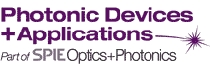 PHOTONIC DEVICES + APPLICATIONS (PART OF OPTICS+PHOTONICS) 2018 fuar logo