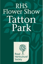 RHS FLOWER SHOW AT TATTON PARK 2019 fuar logo