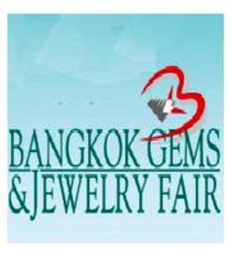 Bangkok Gems & Jewelry Fair fuar logo