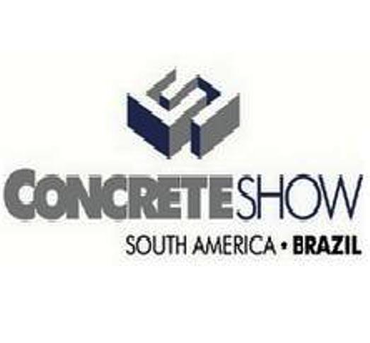 Concrete Show South America fuar logo