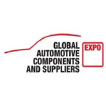 Global Automotive Components and Suppliers fuar logo