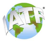 IATF 2018 logo