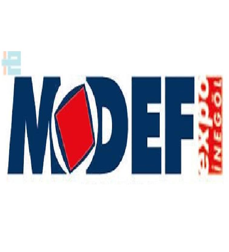 MODEF EXPO 2019 logo
